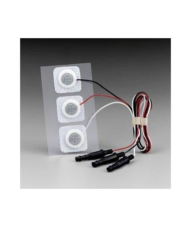 Red Dot™ Radiolucent Pre-Wired Infant Monitoring Electrodes, Case MMM2283