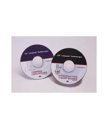 Educational CD, Learning Lung Sounds, 5 each/case MMM5110