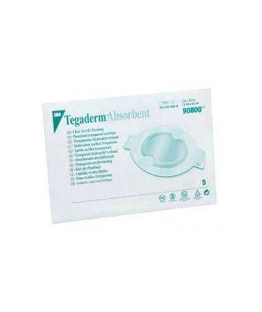 Tegaderm™ Absorbent Clear Acrylic Dressing MMM90800