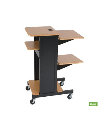 Presentation Cart with Optional Shelf.