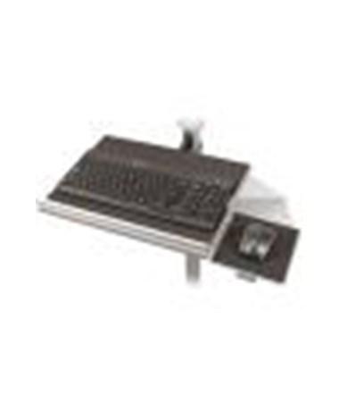 Keyboard/Laptop Shelf with Mouse Platform.