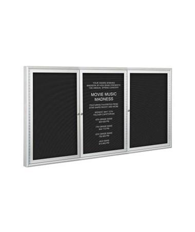 Indoor Directory Cabinet with Letters