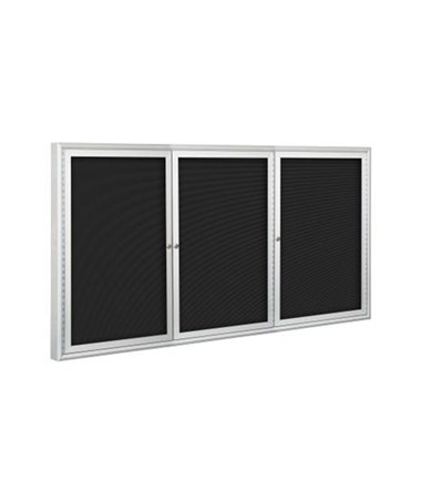 3 Doors Enclosed Indoor Directory Board MOO98PS2-I-