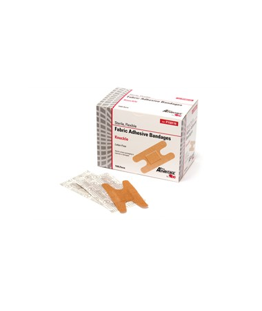Fabric Adhesive Bandages, Knuckle Bands