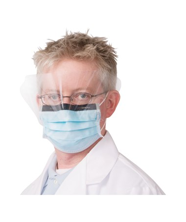 Earloop Procedure Face Mask with Shield NDC P703025
