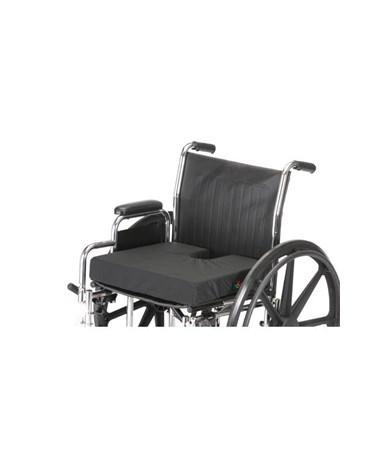 Nova 2603 Gel Foam Coccyx Wheelchair Cushion - shown on wheelchair