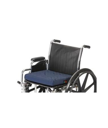 Nova 2651-3 Convoluted Wheelchair Cushion shown on wheelchair