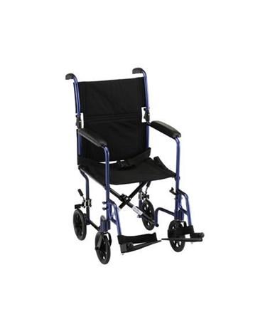 Nova 327B Lightweight 17-Inch Transport Chair