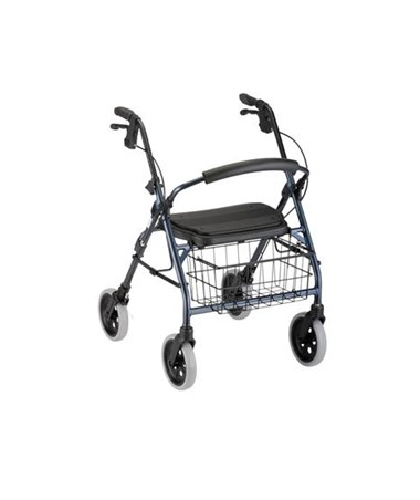 Cruiser Deluxe Rolling Walker NOV4202BL