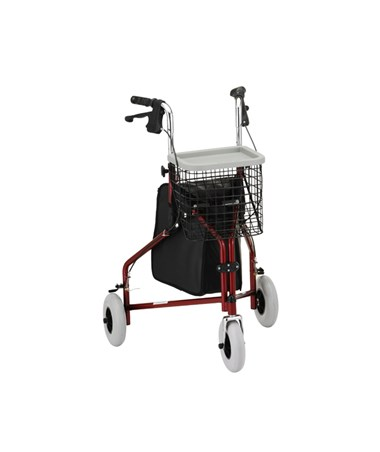 Nova 4900BK Traveler 3 Wheel Walker