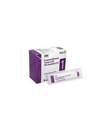 Tinc of Benzoin Swabsticks 50 per box, 10 boxes PDIP-S42450