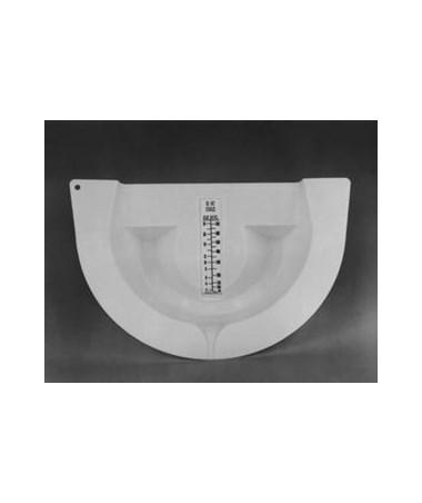 Plasti Pan Commode Type Specimen Collector PLA1050