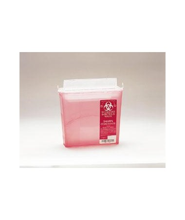 Plasti Products 141020 5 Qt. Sharps Container