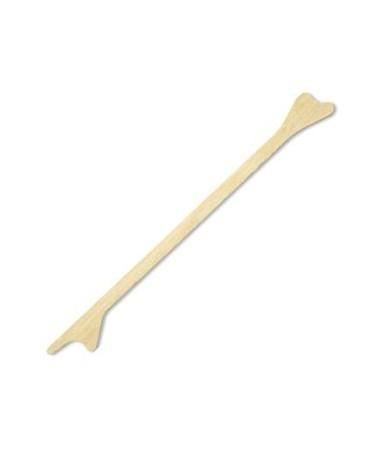 "Puritan Non-Sterile Double End 7"" Wood Cervical Scraper"