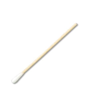 "Puritan 6"" Sterile Cotton-Tipped Applicators with Wood Handle"