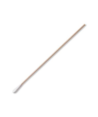 "6"" Sterile Rayon Applicator with Wood Handle PUR25-806 1WR-"