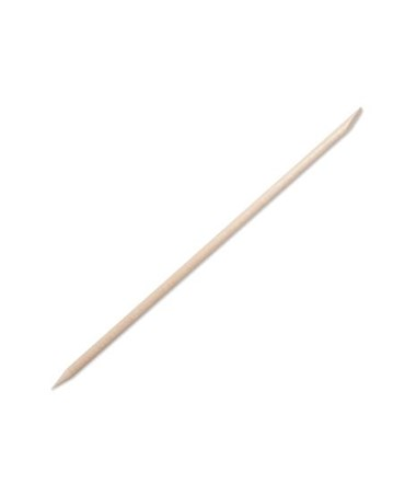 Puritan Non-Sterile Wood Cuticle/Orange Stick with Single Bevel and Pointed Ends