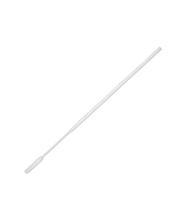 "6"" Non-Sterile Mini-Tipped Nylon Ultra Flocked Swab with Polystyrene Handle PUR3316-U"