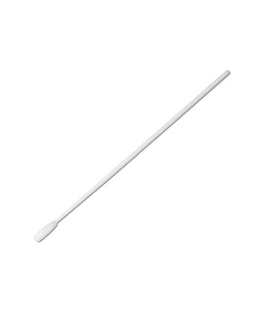 "Puritan 6"" Non-Sterile Large Tip Nylon Ultra Flocked Swab with Polystyrene Handle & Molded Break Point"