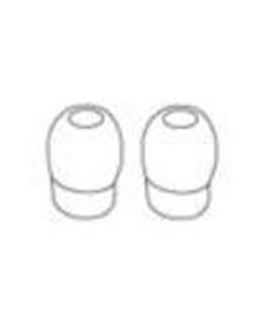 White Ear Tips for Duplex® de luxe, Anestophon®, & Tristar® Stethoscopes, Pack of 10 RIE11110