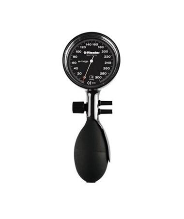 E-mega® Aneroid Sphygmomanometer-Black double tube RIE1370-150