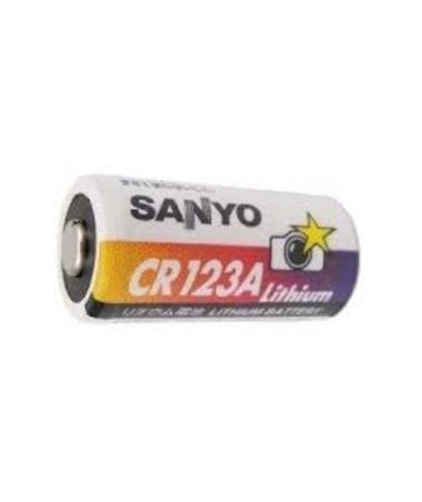 2.5V Lithium Batteries, 2 pcs RIERAYRL123AB