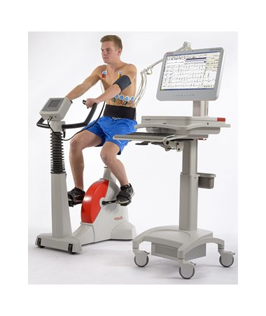 Ergometer in Use