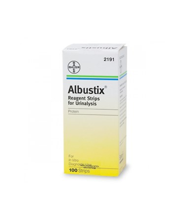 Albustix® Reagent Strips, 100/btl SIE10333485