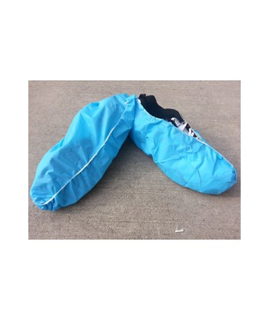 Blue Anti-Skid Polyethylene Shoe Covers SNTT1200-70-10