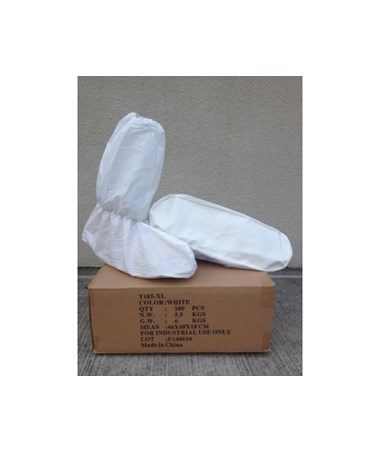 White SunSoft Ultimate Skid Resistant Boot Cover SNTT185-XL