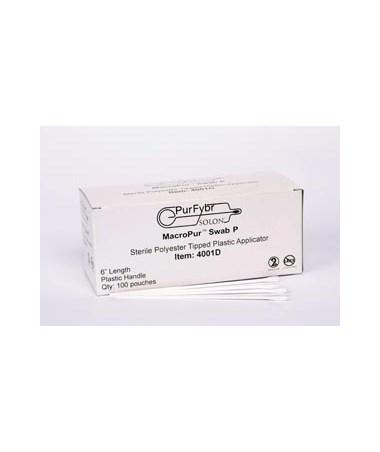 Calcium Alginate-Tipped Serrated Plastic Shaft Swab SOL4002D-