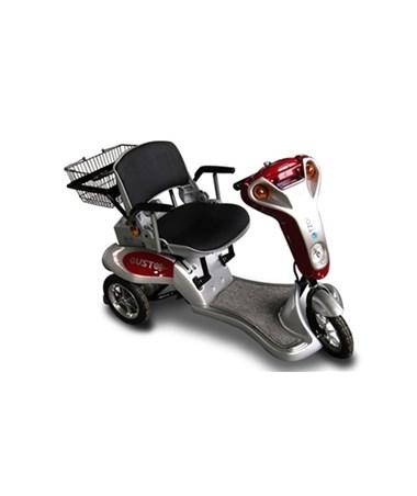 Tzora Titan Scooter in Red
