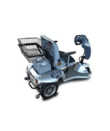 Tzora Titan Scooter in Silver