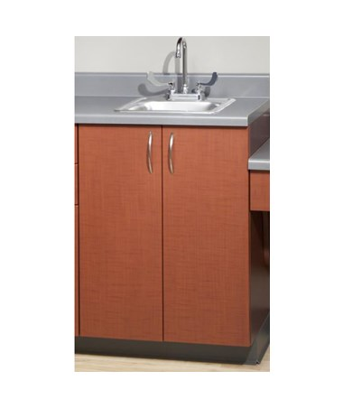 """Base Wood Cabinet with 2 Doors - 24"""" Wide UMF6024WAN-"""
