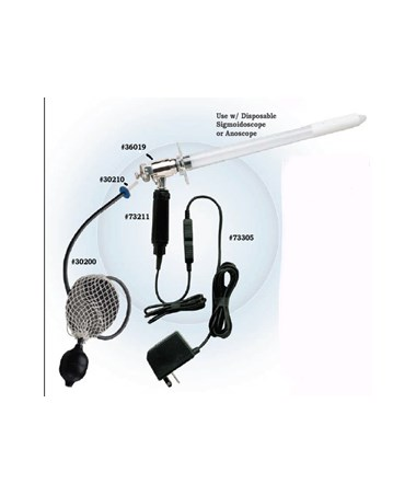 6V Illuminations System for Disposable Sigmoidoscope.