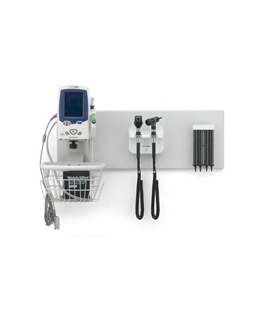 Mounting Board with Spot Vital Signs LXi Monitor, Transformer & Heads, and Specula Dispenser (all sold separately)