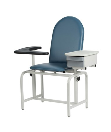 Padded Blood Drawing Chair with Storage Drawer 2572WIN