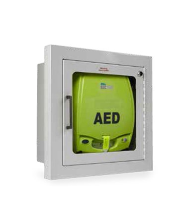 Zoll Aed Plus Recessed Mount Wall Cabinet Save At Tiger